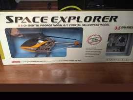 Helicóptero RC Spacefox Explorer 70 cm 3,5 canales