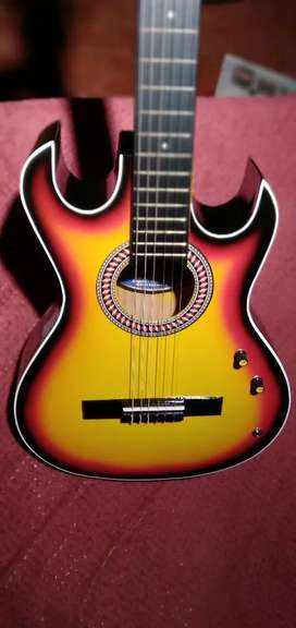 Guitarra electroacústica. Poco uso