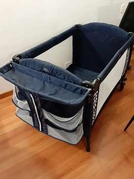 Cuna corral para bebe. Obsequio dona para lactar