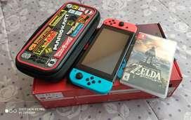 Nintendo Switch Caja Roja, Varios Extras