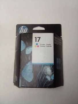 Cartucho HP 17 Tricolor original