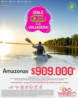Viaja al amazonas ,san andres, la guajira