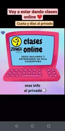 CLASES DE ZUMBA ONLINE