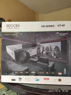 Cinema Proyector 3D Led 4500 lumens