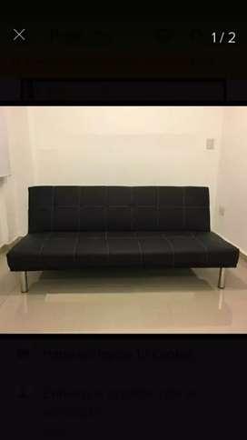 Sofa cama de pana