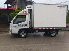 Turbo JMC con furgon y termo