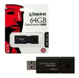 Memoria Usb 3.0/3.1 Kingston 64gb