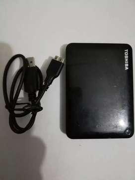 Disco duro Externo HDD TOSHIBA 1TB 3.0
