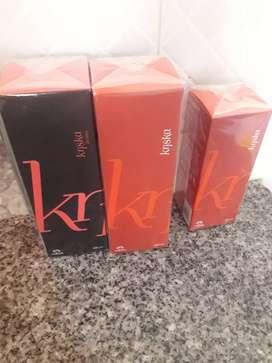Perfume kriska natura de 100ml y 50ml