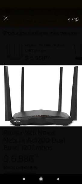 Router wifi Nexxt Rompemuros