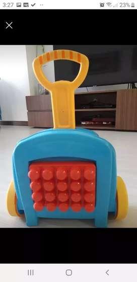 Lego carrito Mega Bloks Fisher Price - usado