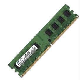 Memoria RAM 4GB PC-3 12800U para PC
