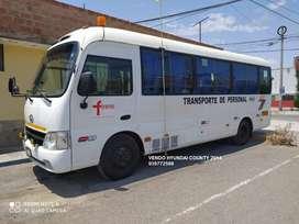 Custer minibus hyundai county 2014 full