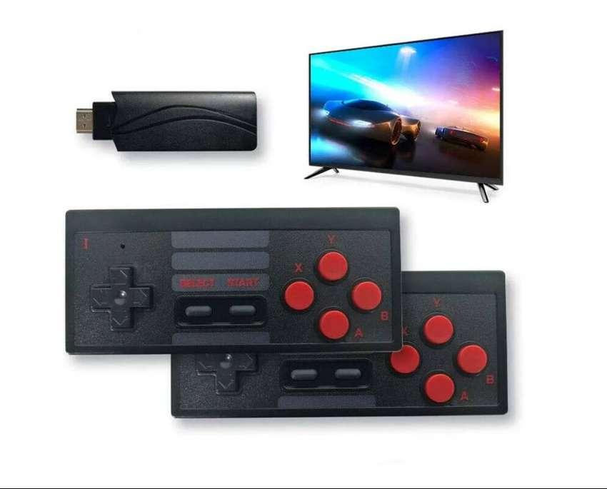Mini Consola Inalámbrica Juegos Retro Usb Televisor
