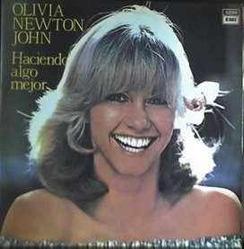 OLIVIA NEWTON JOHN  HACIENDO ALGO MEJOR VINILO EMI 6894  1977 AUDIOMAX