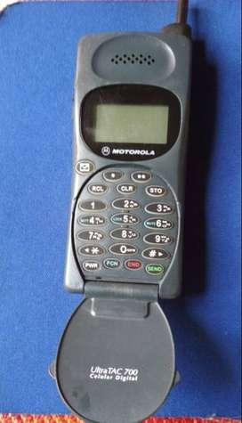 Vintage Coleccion Celular Motorola Ultratac 700 (1990) Excelente estado