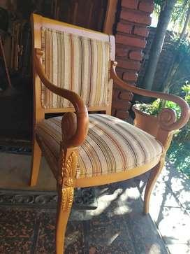 Par de sillones antiguos de estilo francés sillones imperio Luis 15 xv hay Luis xvi y barroco. Muebles de colección