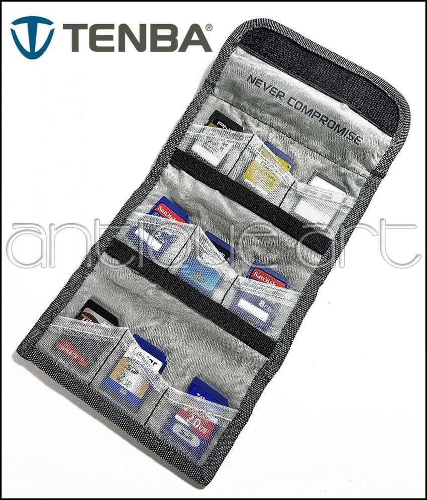 A64 Porta Memorias 9 Sd Memory Stick Xd Estuche Nylon Tenba 0