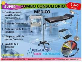 Equipos Médico Equipamiento para Consultorio médico combos completo