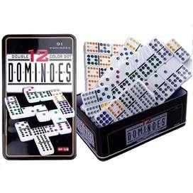 Domino Profesional 91 Piezas 12/12 Juegan Hasta 13 Personas