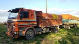Scania 112h Modelo 1987 C/Acoplado