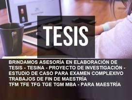 ASESORÍA TESIS EXAMEN COMPLEXIVO ENSAYO UNIVERSITARIO TAREA UNIVERSITARIA PLAN DE NEGOCIO FINANCIERO UNIVERSIDAD MODELO
