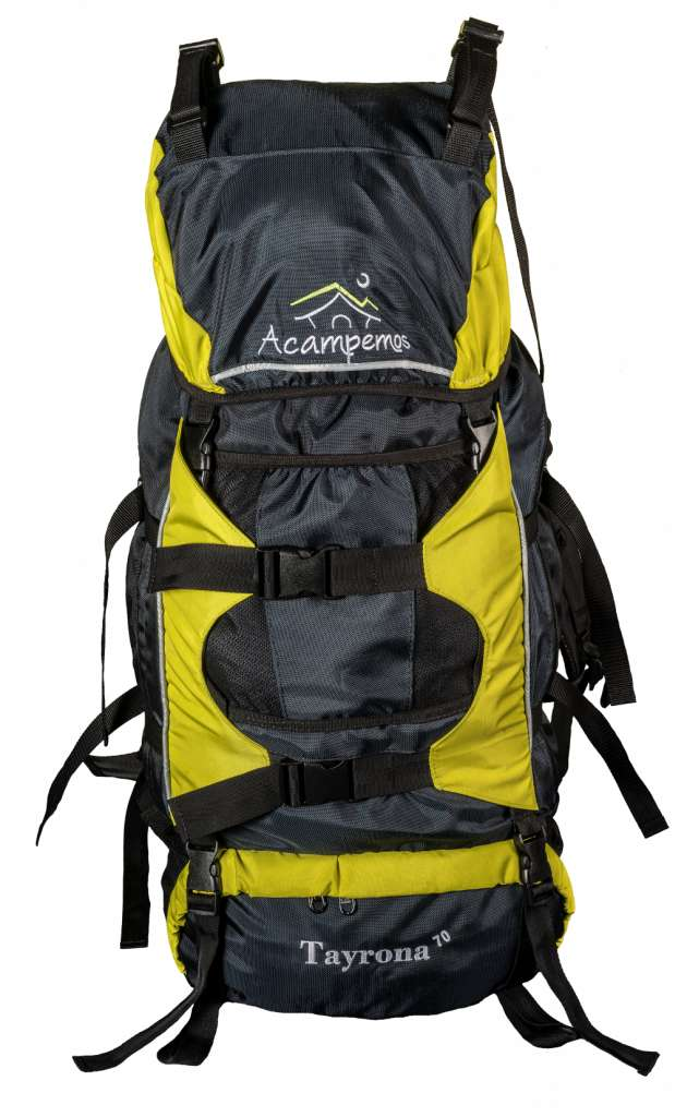 Morral tipo camping 70Lt 0