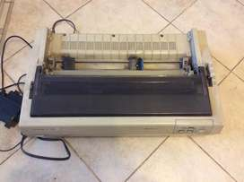 impresora epson carro ancho matriz de punto
