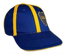 Gorras simples Boca-Rive-Independiente-Racing-San Lorenzo. Licencia Oficial