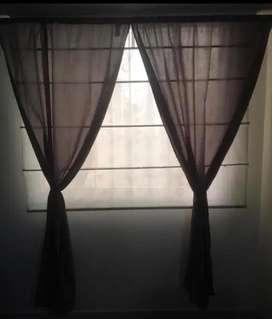Cortinas para habitacion color gris