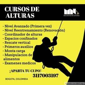 CURSOS DE ALTURAS $80.000