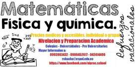 Clases Matematicas, Fisica, Quim. Inorg.