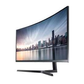 """Monitor Samsung 34"""" Curvo Ultra Wqhd Freesync 100 Hz Lc34h890"""