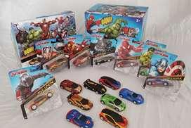 Carro Coleccion Impulso Hero x 8