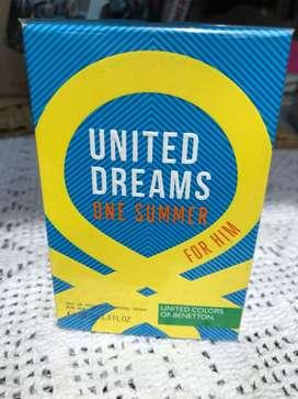 Perfume United Colors Of Benetton One Summer original y sellado