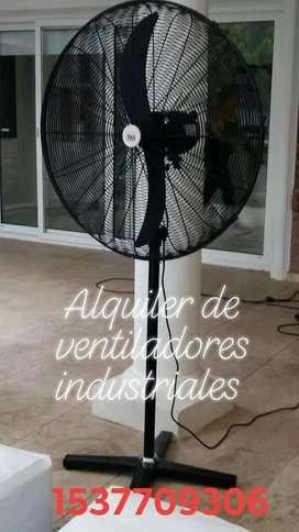 Ventiladores Industriales (alquiler )