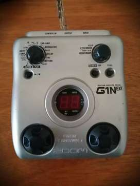Pedal zoom G1Next
