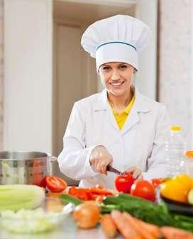 Cocinero que ame su trabajo