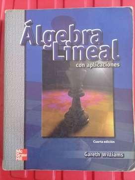 Algebra Lineal con Aplicaciones de Gareth Williams