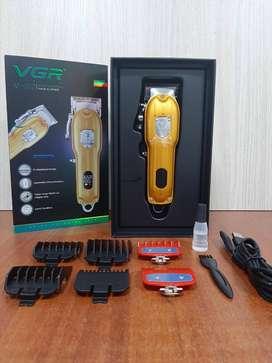 Maquina De Peluquería Inalámbrica Profesional Vgr V-092 p139000eluquera 6 guías excelente corta pelo