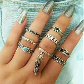 Preciosos anillos