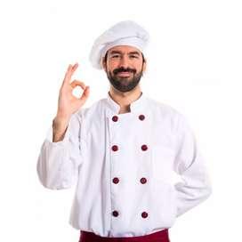 Requiero contratar chef