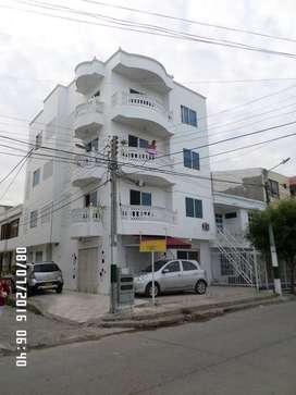 Arriendo apartamento en Urb. Los Corales  en Cartagena, doy agua, gas, TV y Wi Fi