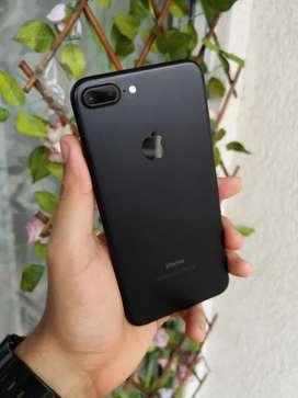 Oferta iPhone 7 plus negro mate de 32gb como nuevo