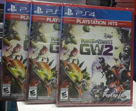 PLANTS VS ZOMBIES 2 PS4 NUEVO SELLADO ENVIOS