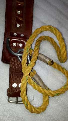 cinturon de seguridad para trabajos en altura