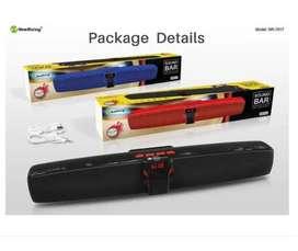 Barra Sonido Parlante Bluetooth Sound Bar Fm Sd Nr 7017