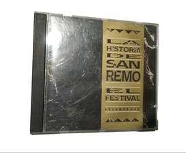 Cd Musica Italiana La Historia De San Remo El Festival Vol 1