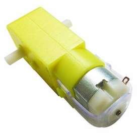 Motorreductor Motor Dc Caja Amarilla Reductora Carro Arduino