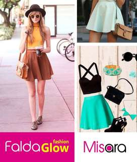 FALDA GLOW FASHION